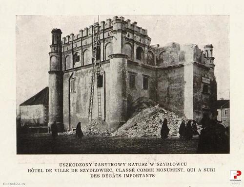 Ratusz Miejski, okres I wojny światowej (fotopolska.eu)