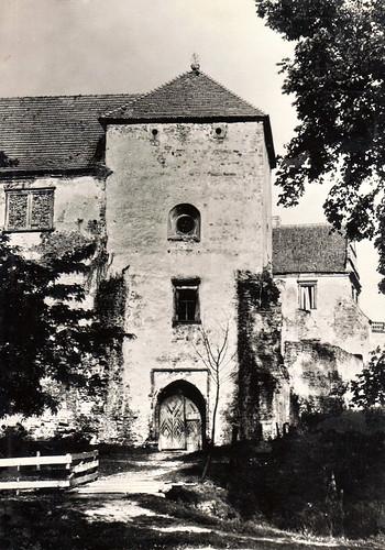 Zamek Szydłowiecki, lata 50-te XX wieku (fotopolska.eu)