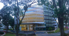 Block 34 at Noon (st_tuper33) Tags: panorama architecture campus landscape nokia singapore ann 1020 ngee polytechnic ngeeann lumia vertorama