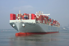 Cosco France 'Explored Flickr #81 19/Sept/2014' (Mickoo737) Tags: containership cosco explored abigfave