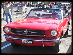 Ford Mustang Convertible (v8dub) Tags: auto old classic ford car automobile muscle convertible automotive voiture pony american oldtimer mustang oldcar collector youngtimer wagen pkw klassik worldcars