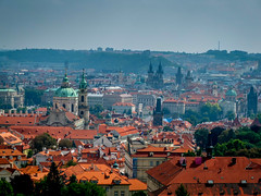 Red roofs in Prague (2mag7-THANK YOU for 2 million + views) Tags: