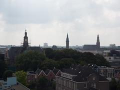 Uitzicht over Stad vanuit de Watertoren Noord (Jeroen Hillenga) Tags: city netherlands skyline cityscape uitzicht groningen stad