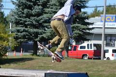 Bangor Skatepark (I.C. Ligget) Tags: park me skateboarding kick board skating pipe bangor maine skatepark flip skate half skateboard halfpipe boarding sk8 kickflip