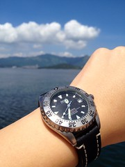 A short life watch - Seiko SCVF001 4S15-7000 Titanium Scuba Diver (anthonyleungwatches) Tags: mechanical watch scuba automatic diver titanium seiko 25j 25jewels 4r15 4r157000 scvf001