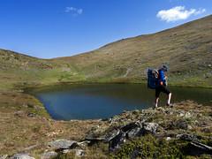 Lago de Coma d'Or (Keith Kingston) Tags: mountain lake france trek de lago keith kingston dor pyrenees coma