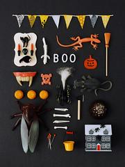 Halloween Miniature Collage