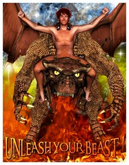 UNLEASH YOUR BEAST! 2 (Jagger Naughton) Tags: dragon fantasy beast jagger jaggy naughton
