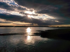 Purfleet sunset Nexus 5 HDR+