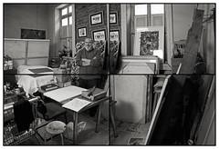RODRIGO COCIA / Pintor I (ORANGUTANO / Aldo Fontana) Tags: chile portrait people blackandwhite blancoynegro blanco flickr y retrato negro duotone pintor santiagodechile uoa duotono reginmetropolitana orangutano aldofontana emiliovaisse561 rodrigococia talleremiliovaisse561