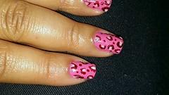 Oncinha Rosa by Adeilma Santos (Arte Nas Unhas by Adeilma Santos) Tags: arte rosa nails unhas oncinha nailsart artenasunhas