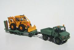 Unimog/MB Trac (ForstThueringen) Tags: model forestry 187 modell roco unimog skidder mbtrac tieflader forstmaschine forestrymodel