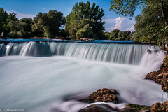 waterfall (Lichtbildidealisten.) Tags: blue beautiful turkey waterfall nice follow trkei picoftheday