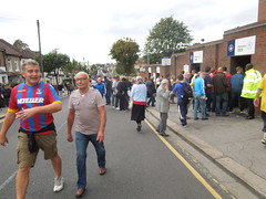 Holmesdale Road, London SE25 (Paul-M-Wright) Tags: road park city london football crystal leicester saturday palace september v match 27 premier league 2014 selhurst se25 holmesdale