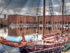 Albert Dock (D  a  v  e) Tags: pictures uk england dave liverpool photo image photos pics images photograph jpg jpeg mersey merseyside jpgs jpegs tonemapped sumpner