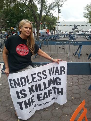 Protesting Obama at the UN
