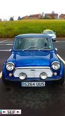 Mini East kilbride 2014 (seifracing) Tags: rescue cars scotland europe scottish police mini vehicles research emergency polizei spotting recovery strathclyde polizia ecosse seifracing