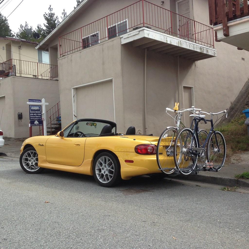 Ecat San Francisco Tags Bike Bicycle Convertible Mount Rack Mazda Miata Hitch