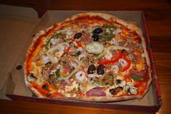 Pizza (petrusko.rm) Tags: food pen prime olympus pizza pancake ep3 17mm m43 mft