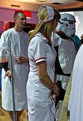 Sheer heart attack fancy dress (JOHN BRACE) Tags: wales club fan north queen convention sands prestatyn presthaven