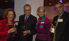 Elizabeth and Edmund Capozzi and Leslie and Tom Gardner (Photo by Jen Bonin)
