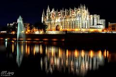 Catedral de Palma de Mallorca (7); El reflejo (E.M.Lpez) Tags: