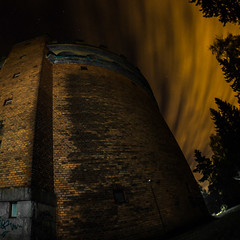 Reach for the stars (side rocks) Tags: longexposure nightphotography sky urban orange tower abandoned night finland stars decay urbandecay watertower observatory forgotten urbanexploration ur tampere derelict destroyed abandonedbuilding urbex postapocalyptic startower