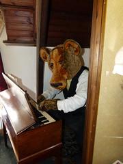 giant teddy bear! (pam.e.mcnamara1) Tags: bear museum teddy dorchester