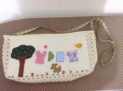 Bolsa para grampo de roupas (*Raquel patchwork) Tags: de patchwork varal roupas grampo