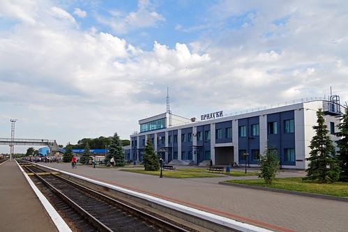 Станция Прилуки. Украина, Черниговская область, город Прилуки, 13.06.2013