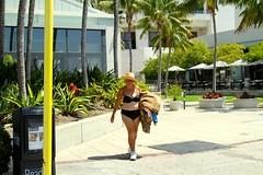 Another Sportswoman, San Diego, CA, USA. (SETIANI LEON) Tags: voyage california ca street woman streets sport america marina canon eos san unitedstates sandiego united ngc diego journey 7d states unis californie etatsunis etats amerique sportswoman