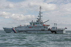 Border Force Vigilant (Explored #243 05/10/2014) (John Ambler) Tags: john river leaving marine force photos border vessel photographic photographs solent medina heading patrol ambler vigilant 243 explored johnambler