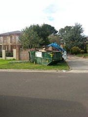 10m3 #bin on a naturestrip (Skip Hire Melbourne) Tags: house moving construction bricks bin rubbish builders waste skips removal bins hire 10m3 12m3