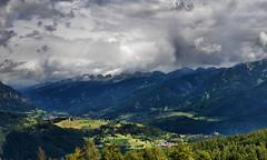 Contrasti di luce sulla val di Fiemme (photolupi) Tags: nuvole cielo trentino dolomiti monti temporale pini valdifiemme abeti lagorai castellodifiemme photolupi