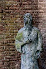 Statue de l'glise San Domenico, Sienne (Mathieu Moreno) Tags: statue siena toscane italie sienne sandomenico nikond7100 nikon18105mmdxvred