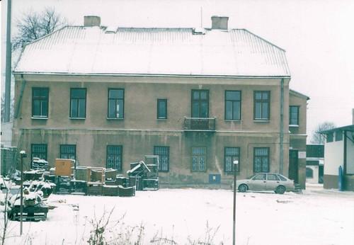 Budynek starej poczty/uniwersal, 1997r.  (fot. Sokołowski)