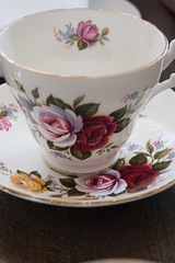 high tea (AS500) Tags: china west flower cup floral rose hotel high tea sydney inner balmain rozelle riverview birchgrove