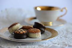 High Tea (PhotosbyDi) Tags: stilllife cakes tea bokeh biscuits petitfours cupandsaucer hightea nikond600 tamronf2890mmmacrolens