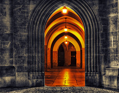 arch (beelzebub2011) Tags: vienna austria europe arch hdr selectivecolor highdynamicresolution