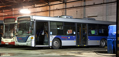 Scanias put a Halt on ADL (georgeupstairs) Tags: bus secondhand saloon 91 scania metrobus widnes halton omnicity haltonransport