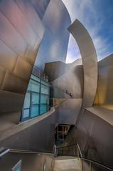 Steel Sails (Stephen Reed) Tags: california city usa losangeles nikon waltdisney d7000