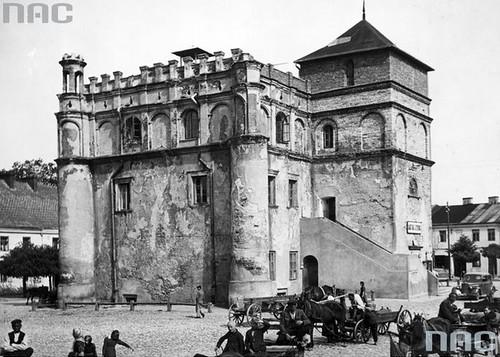 Ratusz Miejski, czasy II wojny światowej (NAC)