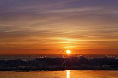 New Day (Ricardodaforce) Tags: morning sea espaa sun sol maana valencia sunrise dawn mar spain waves playa alicante amanecer olas alacant salidadelsol lx7 playadesanjuan lumixlx7 panasoniclumixlx7