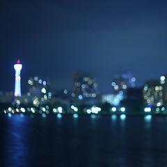 Happy birthday to you! (Tetsushi Suzuki) Tags: birthday light night square happy candle format nightview yokohama