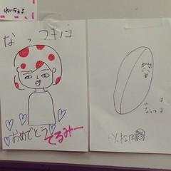 NMBメンバーによる明石奈津子似顔絵酷過ぎワロタ。