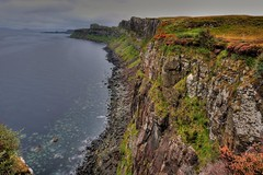 Skye coastline HDR (DSM888) Tags: skye waterfall kilt falls hdr