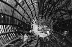 Tunnel View (vjcool231) Tags: road street urban bw construction side cityscapes experimentation exploration rajasthan jodhpur