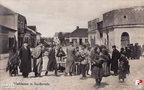 Szydłowiecka ludność, okres 1910-1916? (fotopolska.eu)