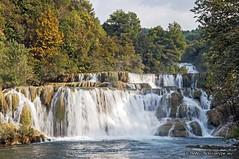 Krka Waterfalls (Pe_Wu) Tags: park waterfall europe croatia national adriatic krka