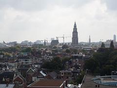 Uitzicht over Stad vanuit de Watertoren Noord (Jeroen Hillenga) Tags: city netherlands skyline cityscape uitzicht groningen stad martinitoren